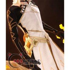 画像5: 原神 Genshin 岩神 モラクス コスプレ衣装 修正版 (5)