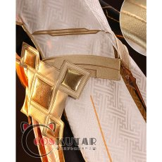 画像14: 原神 Genshin 岩神 モラクス コスプレ衣装 修正版 (14)
