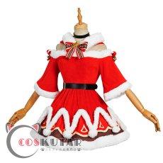 画像3: 原神 Genshin クリスマス サンタ服 バーバラ コスプレ衣装 (3)