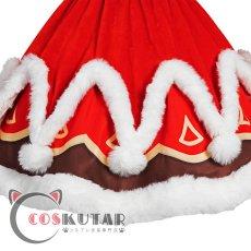 画像6: 原神 Genshin クリスマス サンタ服 バーバラ コスプレ衣装 (6)