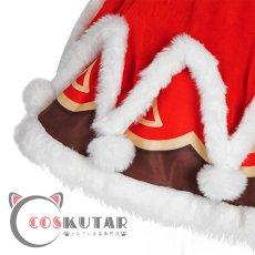 画像10: 原神 Genshin クリスマス サンタ服 バーバラ コスプレ衣装 (10)