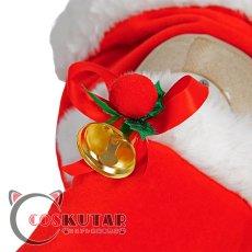 画像11: 原神 Genshin クリスマス サンタ服 バーバラ コスプレ衣装 (11)