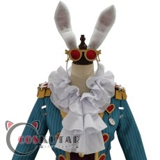 画像6: 第五人格 IdentityV 白ウサギさん 弁護士 フレディ・ライリー コスプレ衣装 (6)