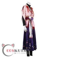 画像4: あんさんぶるスターズ!! Music 琥珀色に咲く蕾 才能開花後 桜河こはく コスプレ衣装 (4)