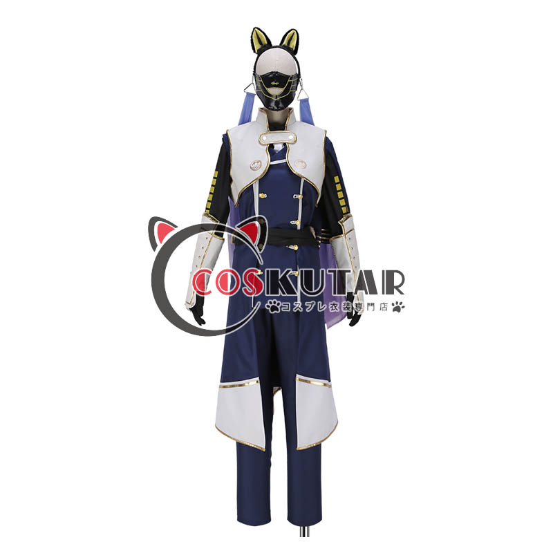 画像1: 刀剣乱舞 鳴狐 極 コスプレ衣装 (1)