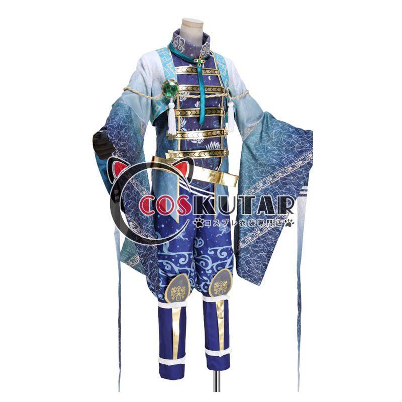 画像1: 戦刻ナイトブラッド 豊臣軍 黒田官兵衛 コスプレ衣装  (1)
