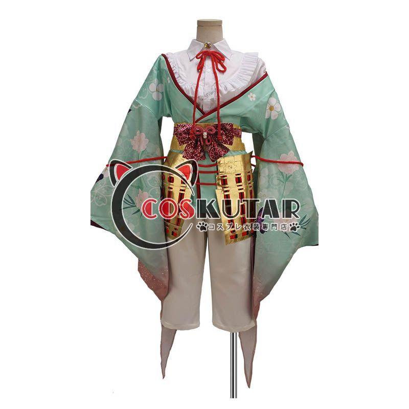 画像1: 戦刻ナイトブラッド 豊臣軍 竹中半兵衛 コスプレ衣装  (1)