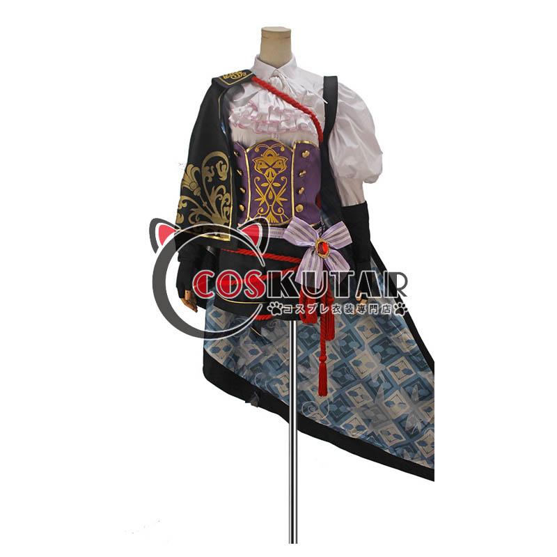 画像1: 戦刻ナイトブラッド 織田軍 森蘭丸 コスプレ衣装 (1)