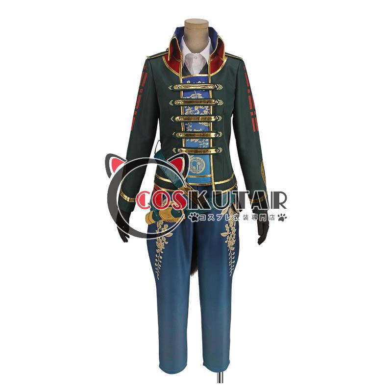 画像1: 戦刻ナイトブラッド 伊達軍 伊達政宗 コスプレ衣装 (1)