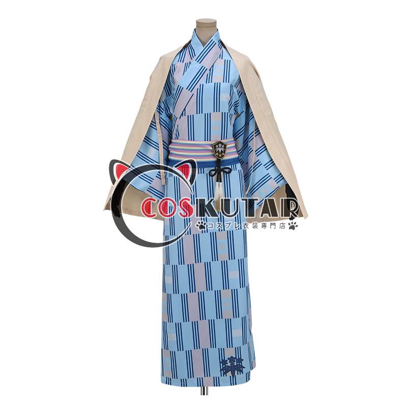 画像1: 刀剣乱舞 大江戸温泉 髭切 コスプレ衣装 (1)