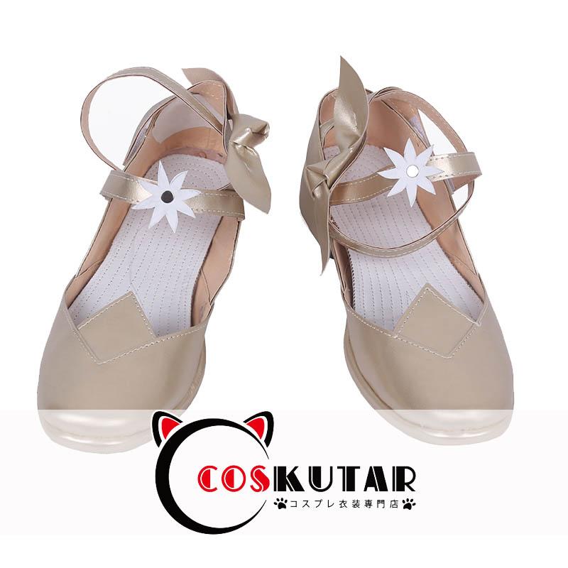 画像1: ファイアーエムブレム 春バニールキナ コスプレ靴 (1)