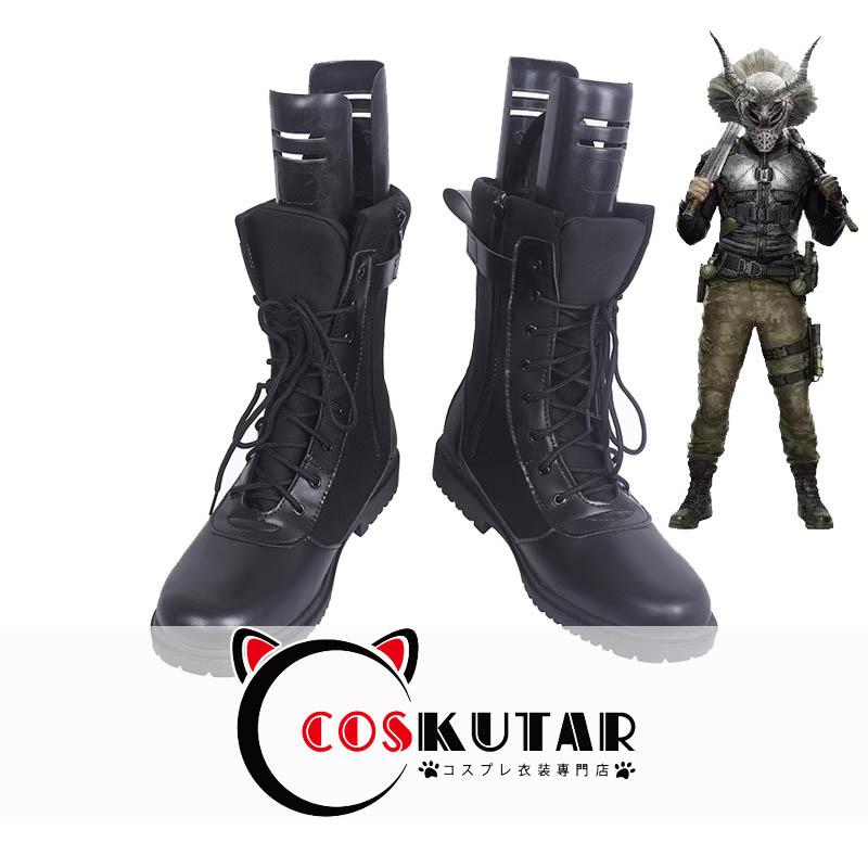 画像1: ブラックパンサー エリック・キルモンガー コスプレ靴 (1)