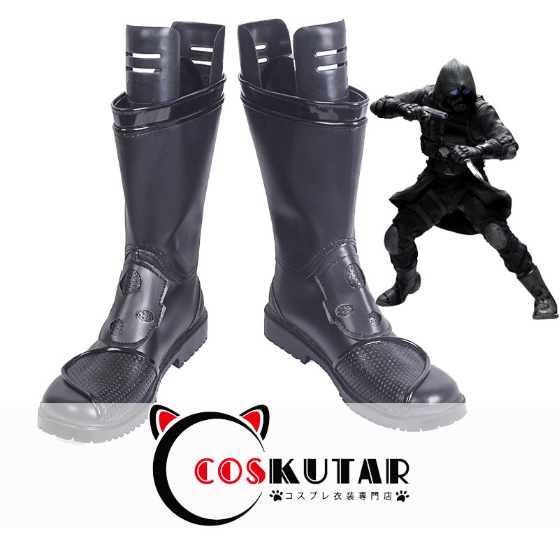 画像1: バイオハザード ハンク Resident Evil 2 Hunk コスプレ靴 (1)