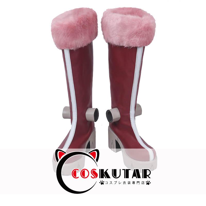 画像1: 僕のヒーローアカデミア マンダレイコスプレ靴 (1)