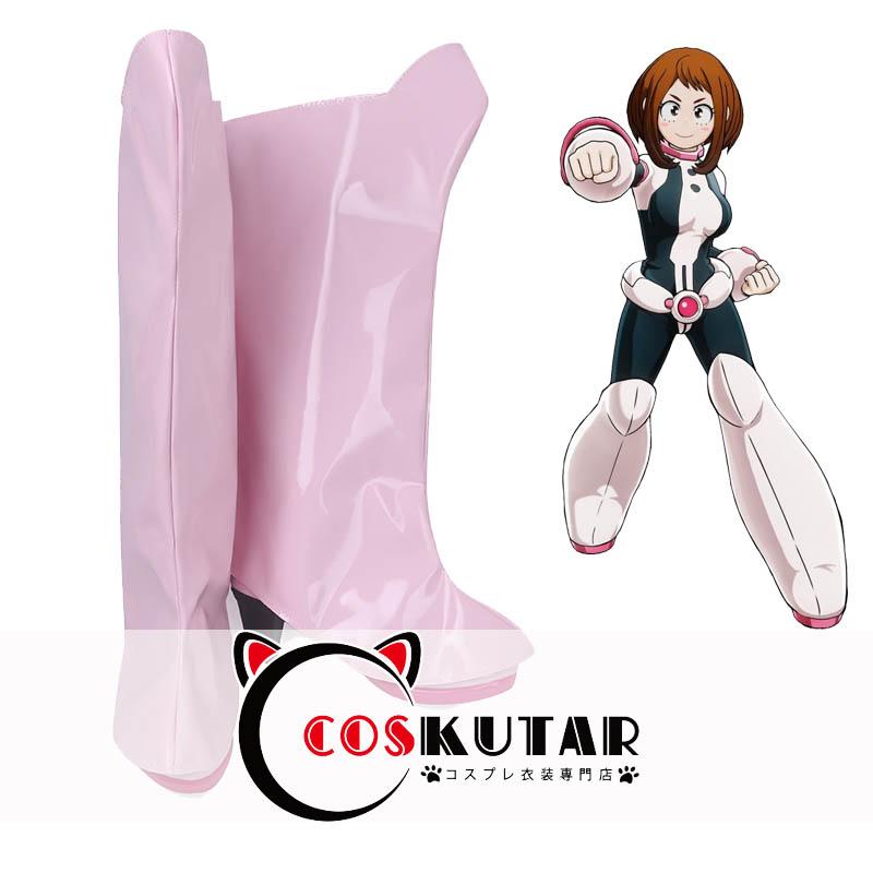 画像1: 僕のヒーローアカデミア 麗日お茶子 コスプレ靴 (1)