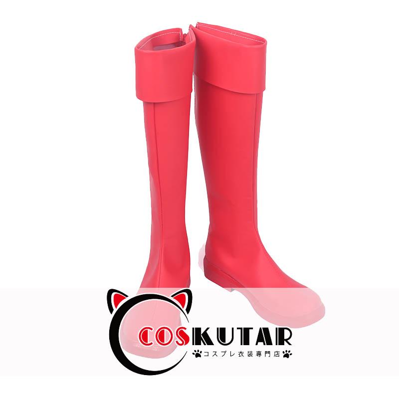 画像1: はたらく細胞 赤血球 ブーツ コスプレ靴 (1)