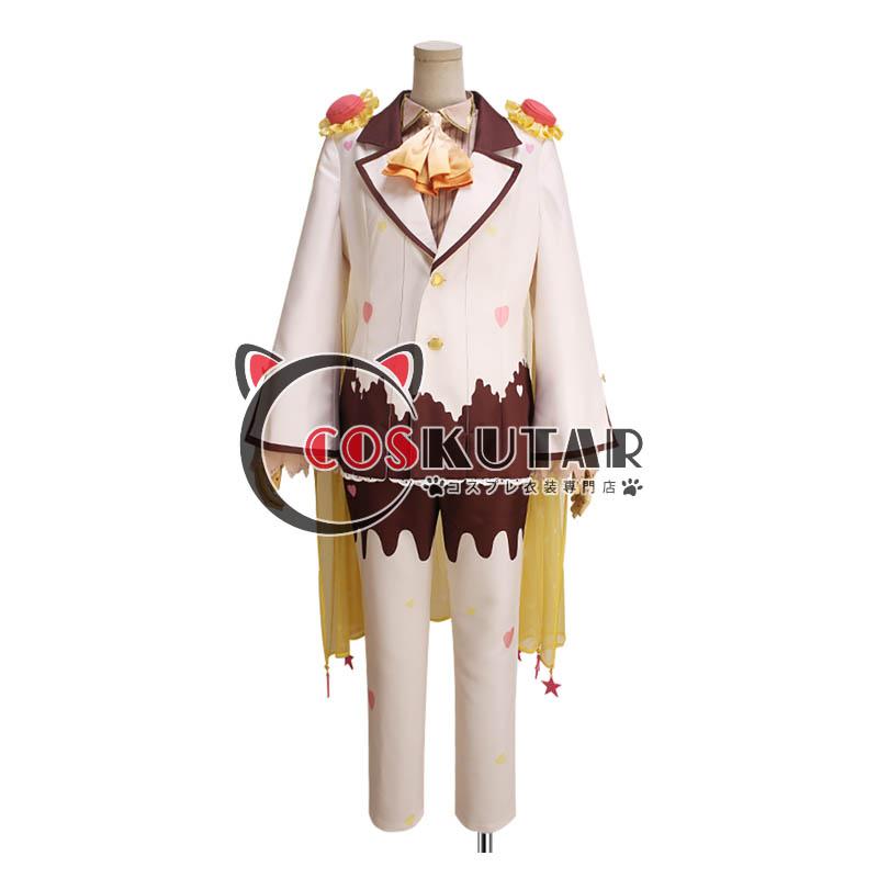 画像1: IDOLiSH7 アイドリッシュセブン お菓子スペック 六弥ナギ コスプレ衣装 (1)