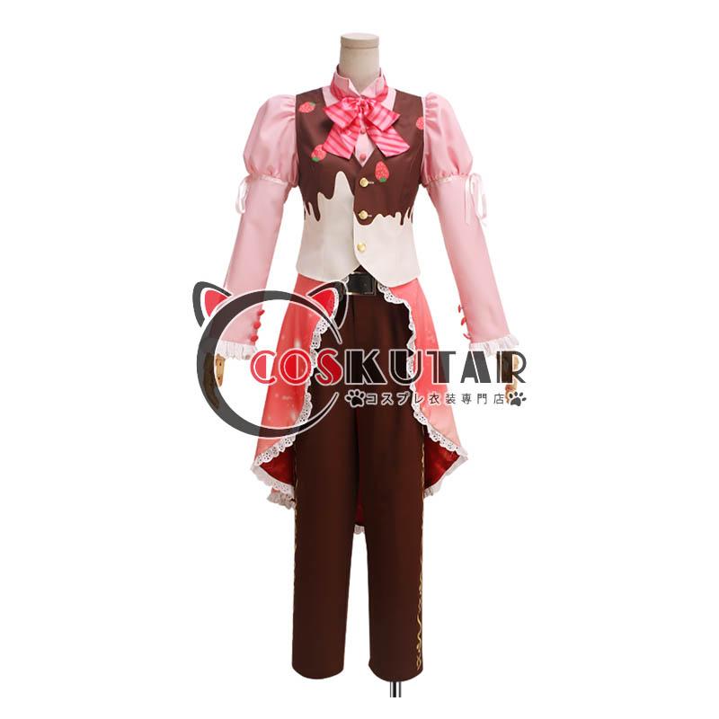 画像1: IDOLiSH7アイドリッシュセブン お菓子スペック 七瀬陸 コスプレ衣装 (1)