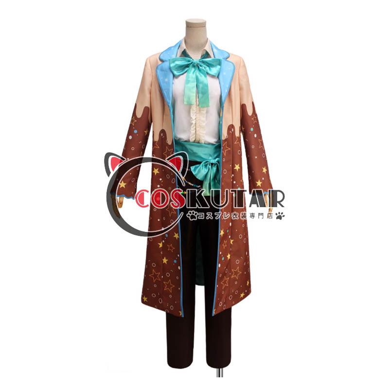 画像1: IDOLiSH7アイドリッシュセブン お菓子スペック 四葉環 コスプレ衣装 (1)