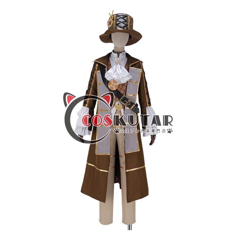 画像1: IDOLiSH7 アイドリッシュセブン アイナナ TRIGGER MECHANICAL LULLABY メカニカルララバイ 一番くじ衣装 八乙女楽 コスプレ衣装 (1)
