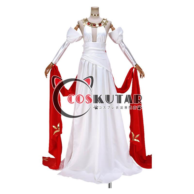 画像1: Fate/Grand Order FGO ネロ・クラウディウス 赤セイバー 英霊正装 ドレス コスプレ衣装  (1)