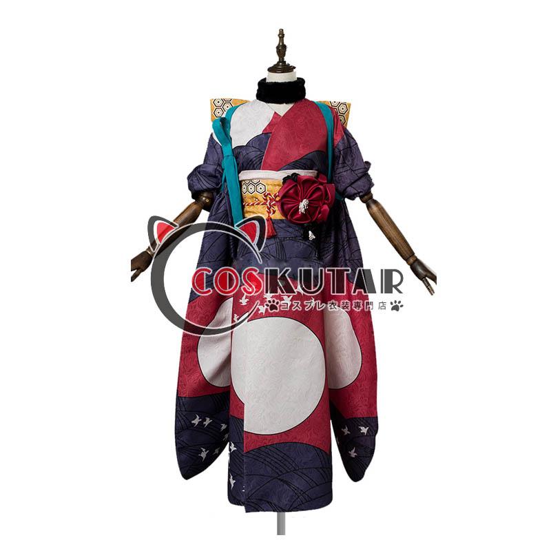 画像1: Fate/Grand Order FGO 葛飾北斎 霊基再臨 第1段階 コスプレ衣装 (1)