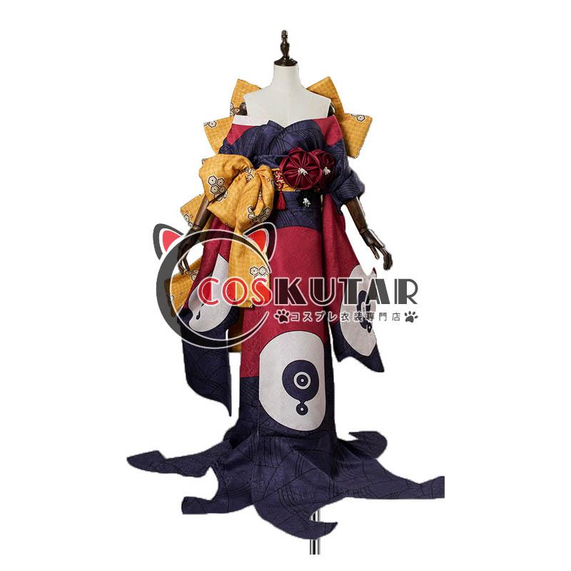 画像1: Fate/Grand Order FGO 葛飾北斎 霊基再臨 第2段階 コスプレ衣装 (1)