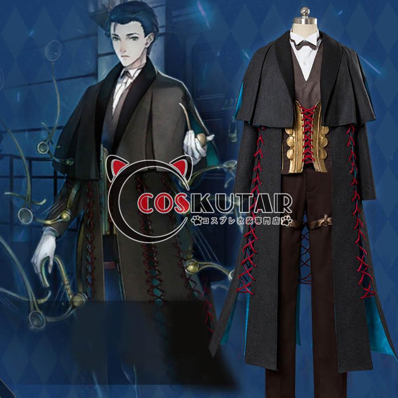 画像1: Fate/Grand Order FGO シャーロック・ホームズ 霊基再臨 第2段階 コスプレ衣装 (1)