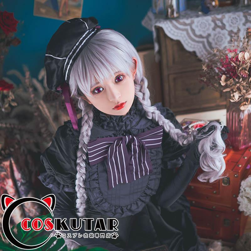 画像1: Fate/EXTRA FGO ナーサリー・ライム アリス コスプレ衣装 (1)