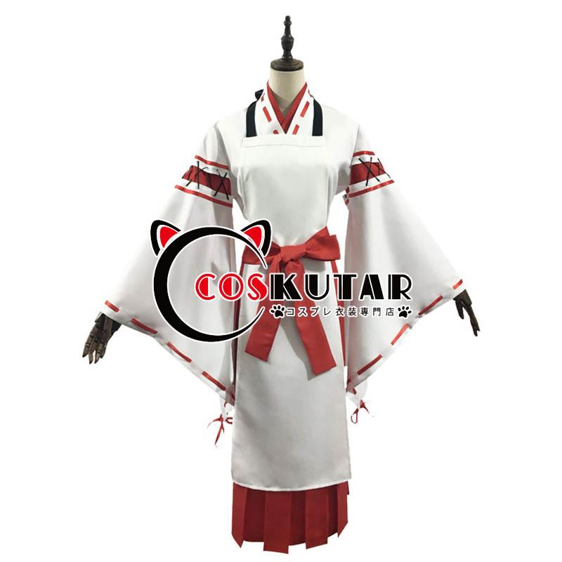 画像1: 世話やきキツネの仙狐さん 主人公 仙狐 コスプレ衣装 (1)