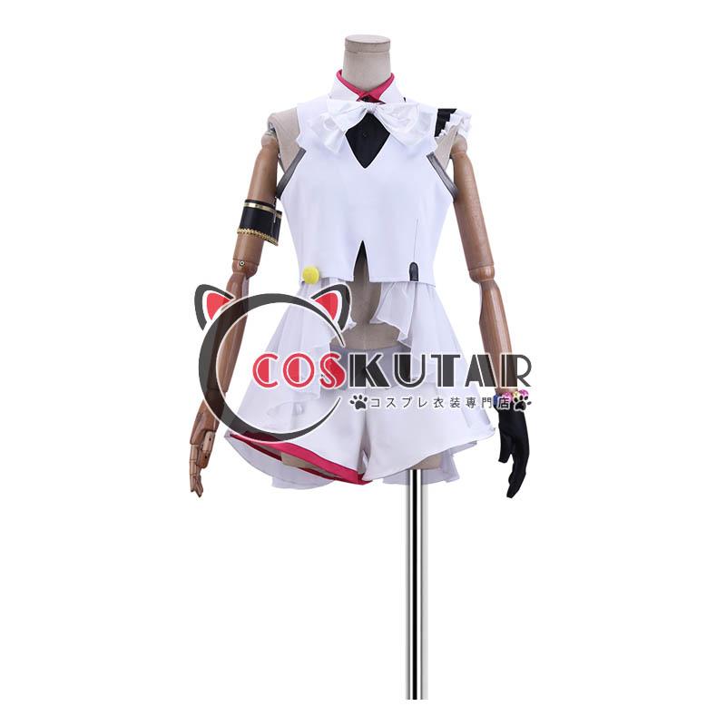 画像1: ツキウタ。女神候補生 Fluna 聖クリス 2017年ステージ衣装 コスプレ衣装  (1)