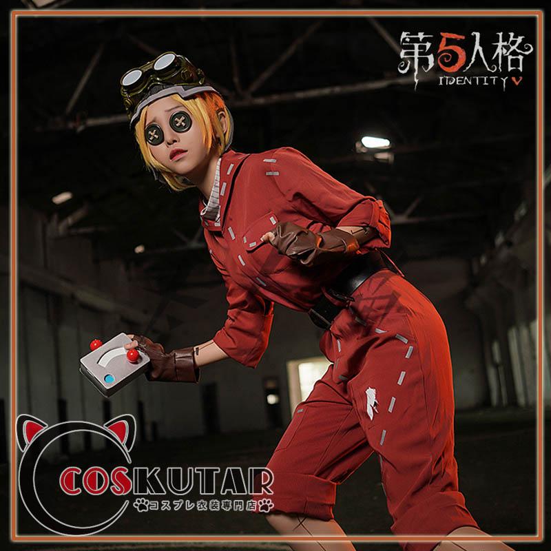 画像1: 第五人格 identityV 機械技師 トレイシー コスプレ衣装 修正版 (1)