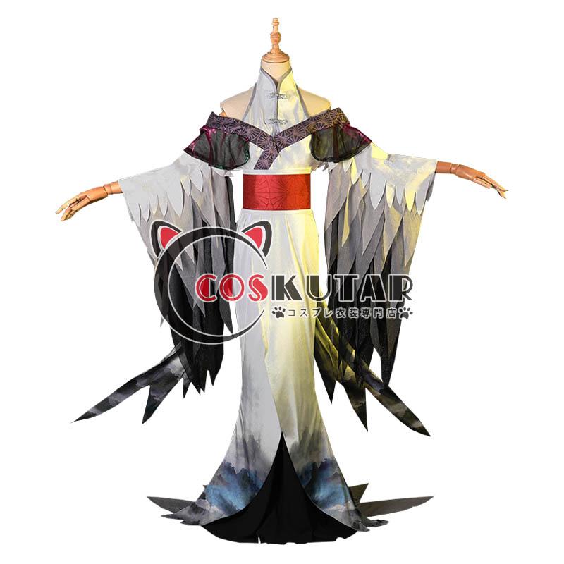 画像1: 第五人格 identityV 芸者 丹頂鶴 美人相 美智子 コスプレ衣装 (1)