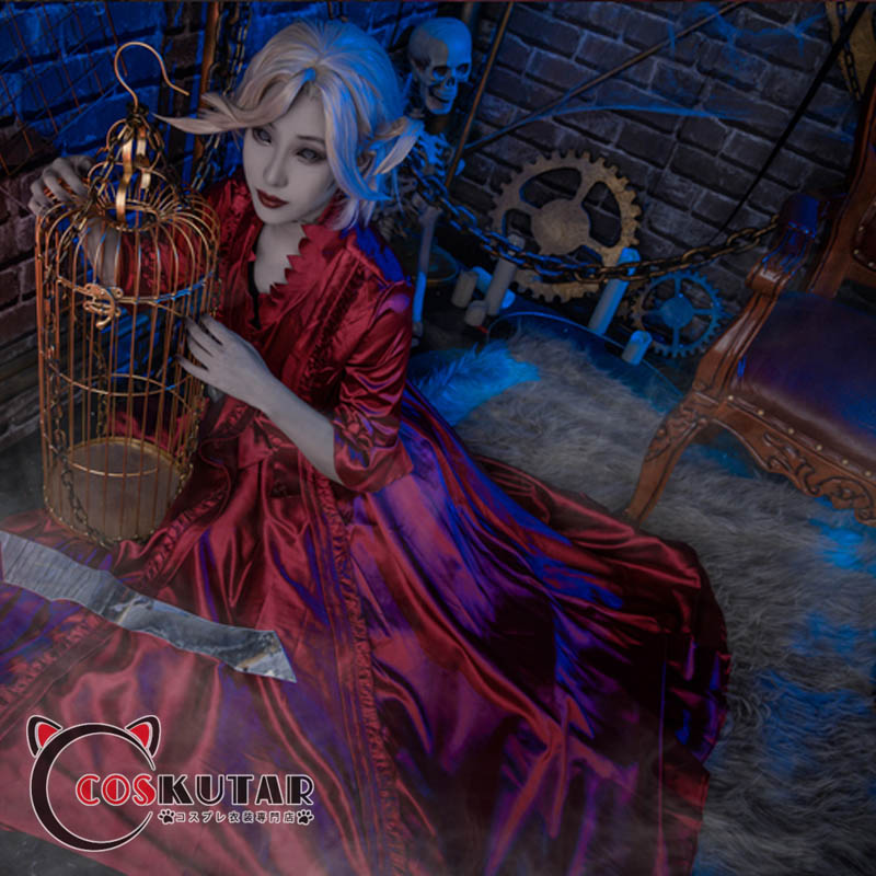 画像1: 在庫有り! 第五人格 IdentityV 血の女王 コスプレ衣装 (1)