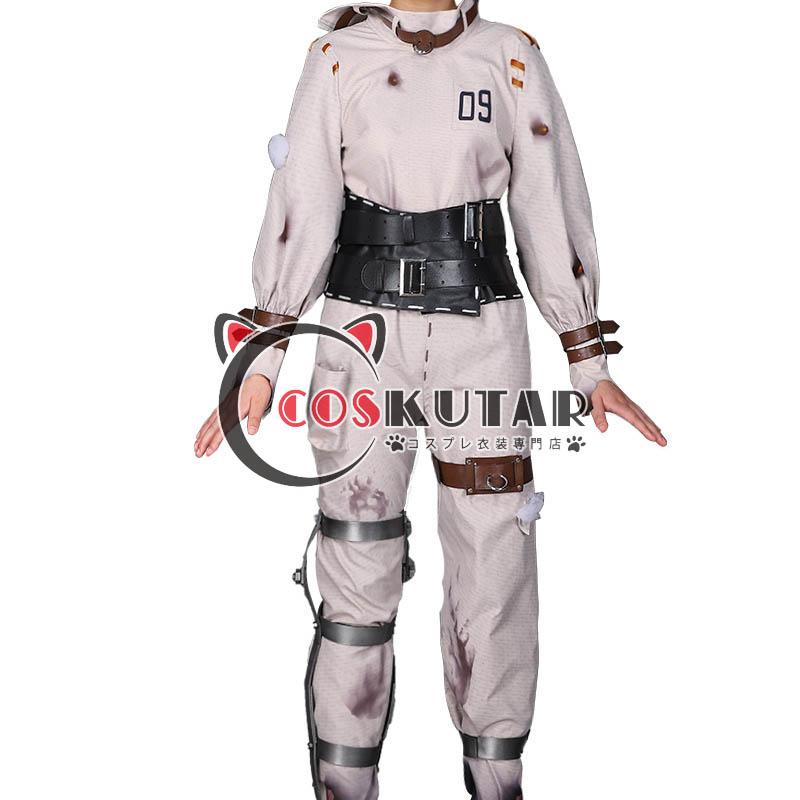 画像1: 第五人格 identityV 偽笑症 機械技師 トレイシー コスプレ衣装 (1)