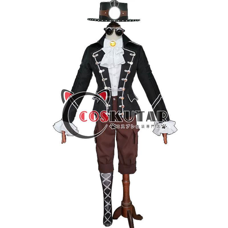 画像1: 第五人格 IdentityV モグラ 探鉱者 ノートン・キャンベル コスプレ衣装 (1)