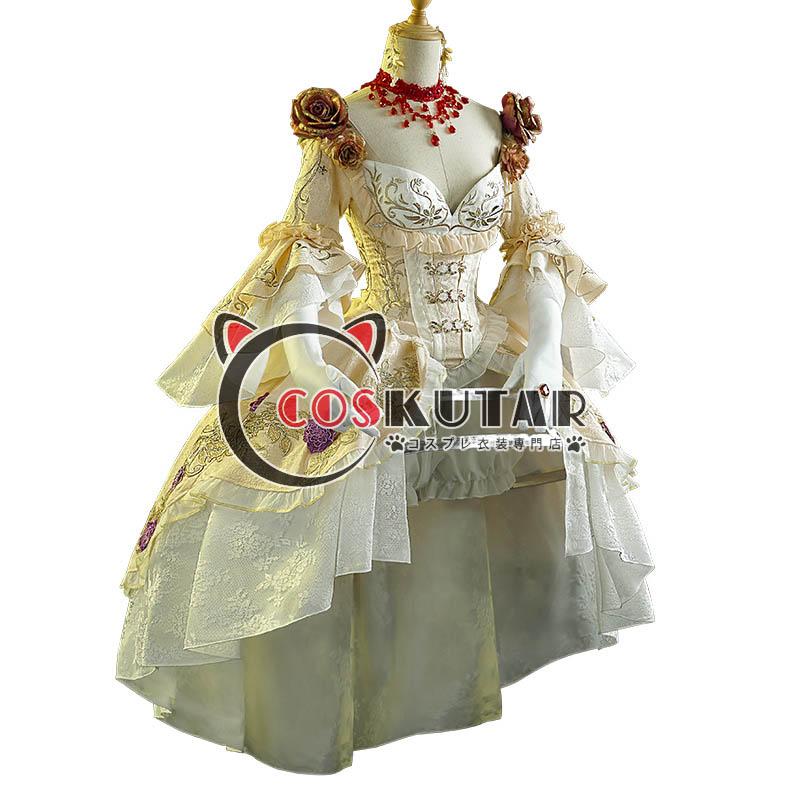 画像1: 第五人格 IdentityV 血祭り 血の女王 マリー コスプレ衣装 (1)