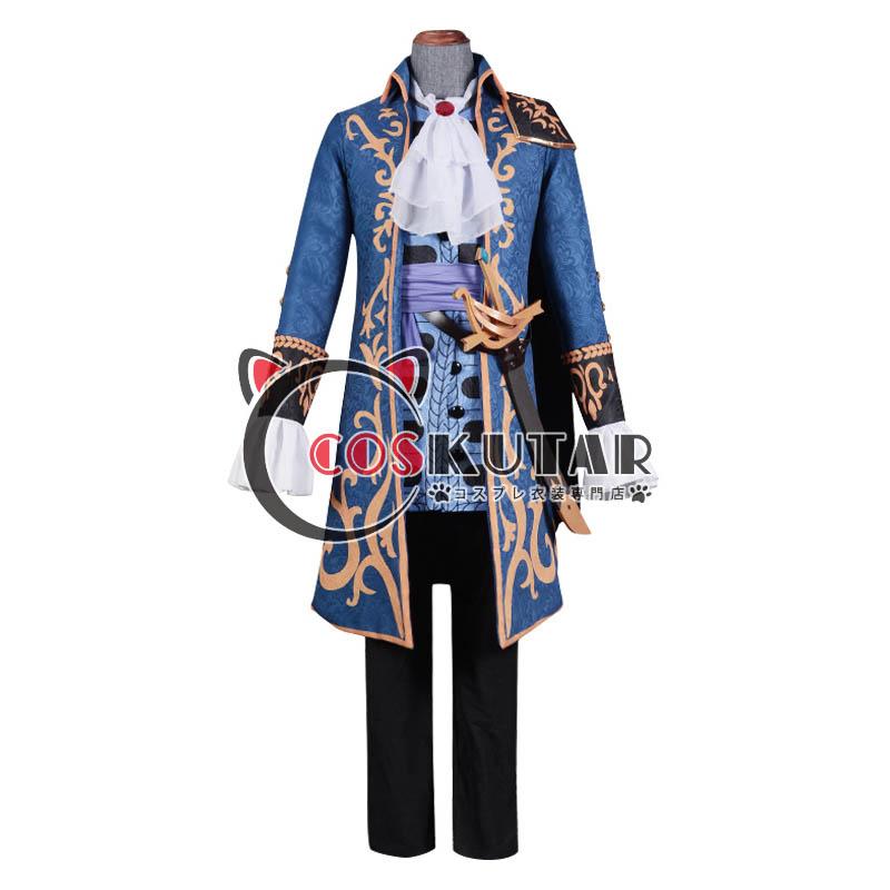 画像1: 第五人格 IdentityV フックキャプテン 一等航海士 ホセ・バーデン コスプレ衣装 (1)