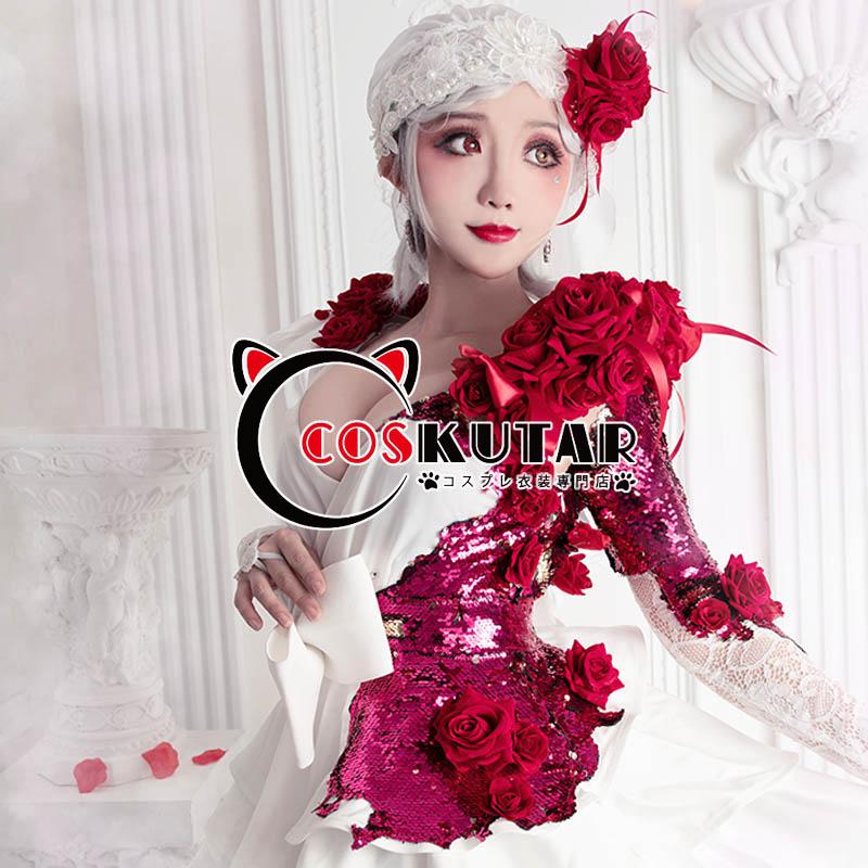 画像1: 第五人格 IdentityV スカーレットの新婦 調香師 ウィラ・ナイエル コスプレ衣装 (1)