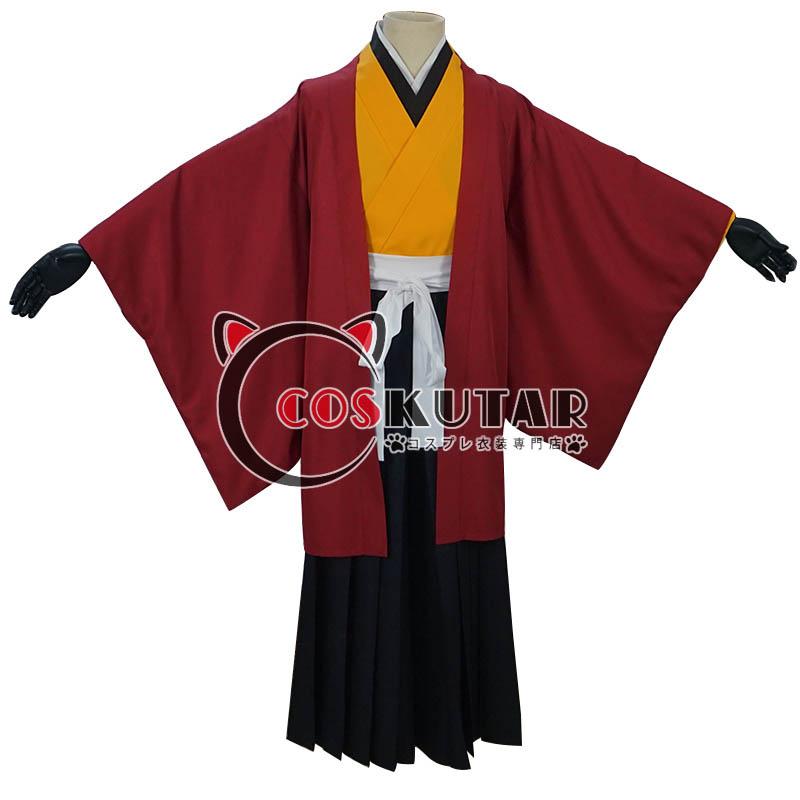 画像1: 鬼滅の刃 日の呼吸の剣士 継国縁壱 コスプレ衣装 (1)