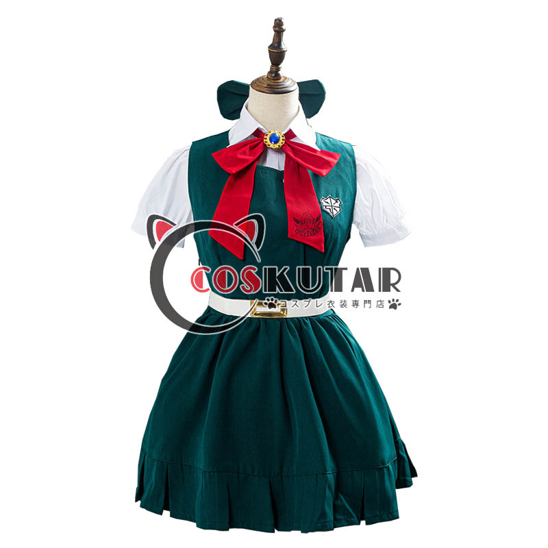 画像1: スーパーダンガンロンパ2 さよなら绝望学园 ソニア・ネヴァーマインド コスプレ衣装 (1)