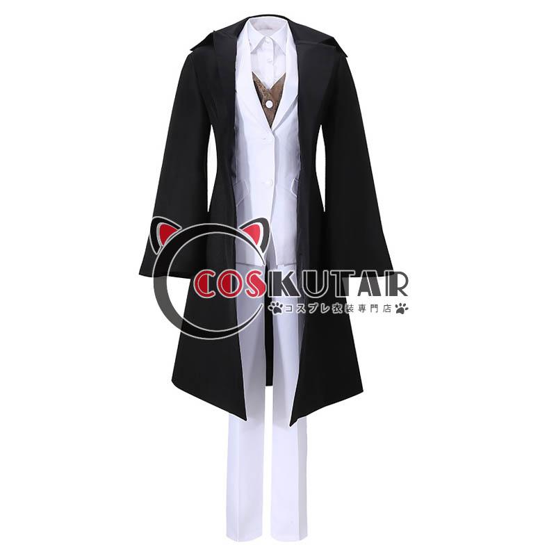 画像1: 鬼滅の刃 鬼舞辻無惨 スーツ コスプレ衣装 (1)