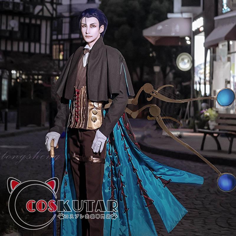 画像1: Fate/Grand Order FGO シャーロック・ホームズ コスプレ衣装 第一段階 第二段階  (1)