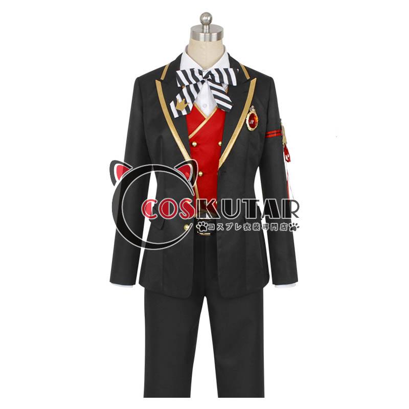 画像1: ツイステッドワンダーランド ツイステ 制服 リドル・ローズハート コスプレ衣装 (1)