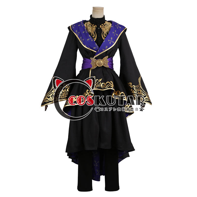 画像1: ツイステッドワンダーランド ツイステ 式典服 コスプレ衣装 (1)