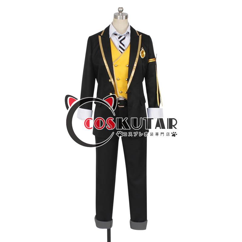 画像1: ツイステッドワンダーランド ツイステ 制服 ラギー・ブッチ コスプレ衣装 (1)