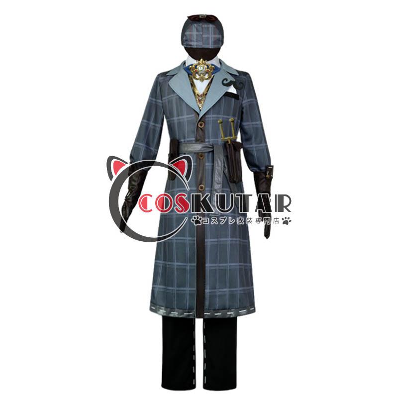 画像1: 第五人格 identityV Mr.ミステリー 傭兵 ナワーブ・サベダー コスプレ衣装 (1)