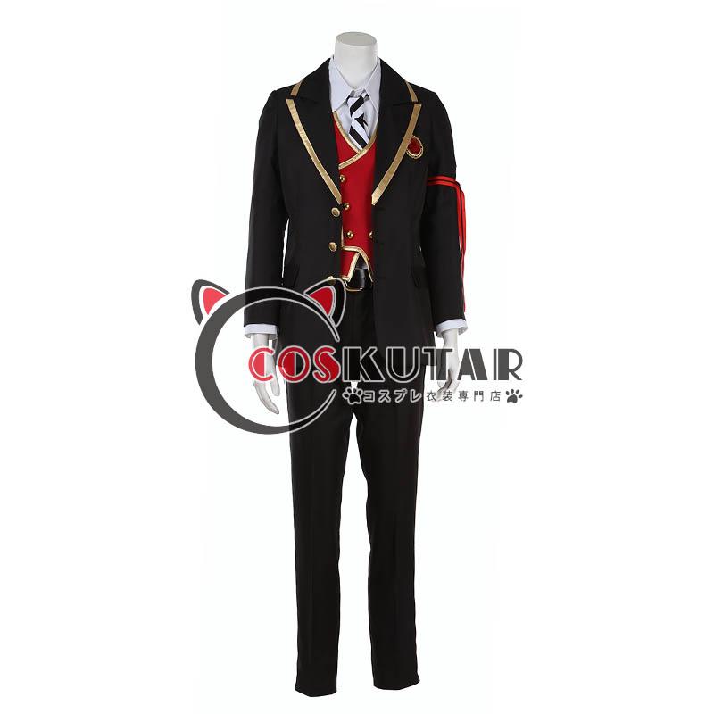 画像1: ツイステッドワンダーランド ツイステ 制服 デュース・スペード コスプレ衣装 (1)