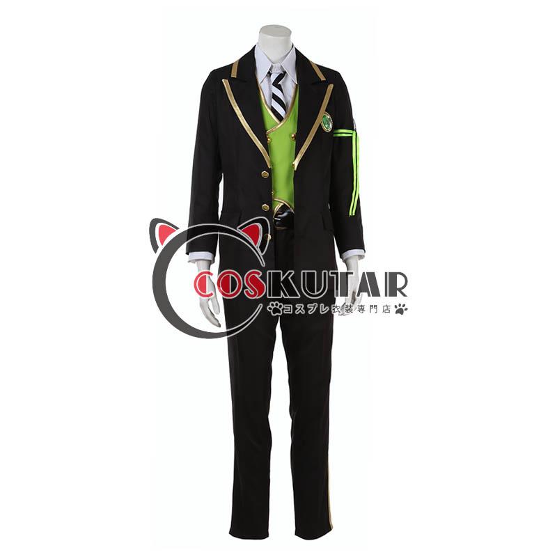 画像1: ツイステッドワンダーランド ツイステ 制服 マレウス・ドラコニア  コスプレ衣装 (1)