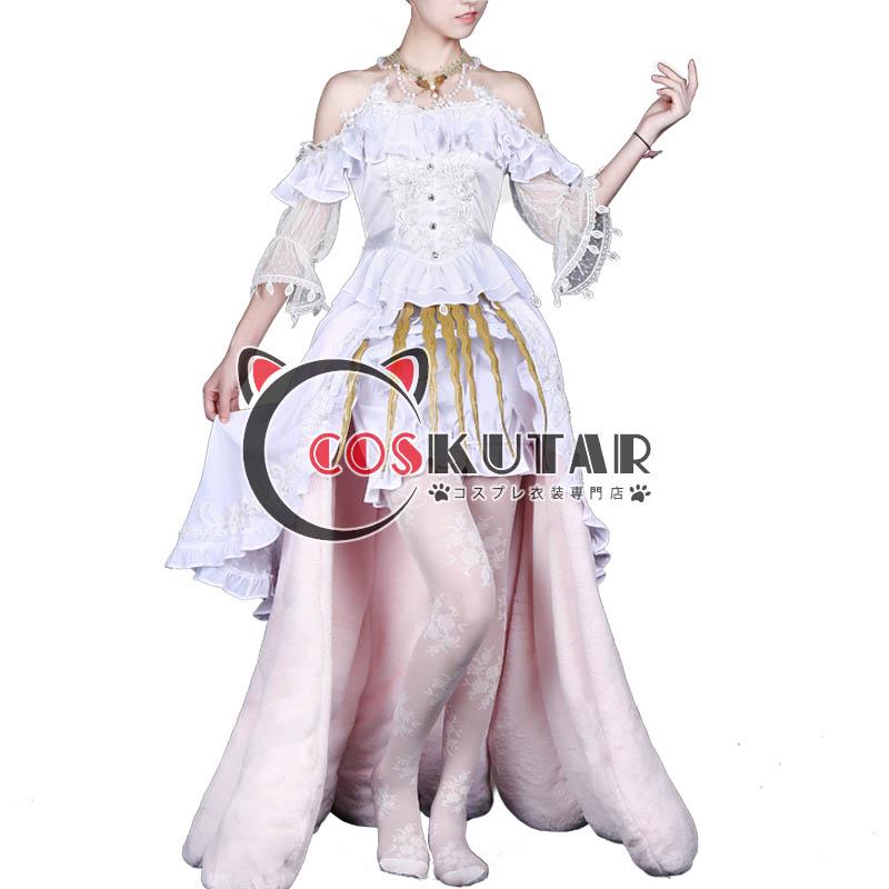 画像1: 第五人格 identityV レディ・ベラ 血の女王 マリー コスプレ衣装 (1)